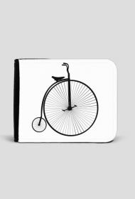 Portfel z rowerem