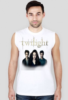 Męska koszulka Zmierzch Edward Bella i Jacob