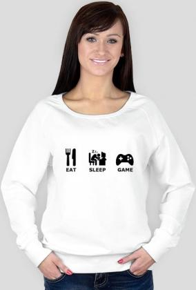 Damska biała bluza GAMER 1