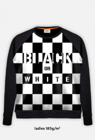 "Bluza ""Black or white"""