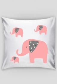 Poszewka na poduszkę słonie