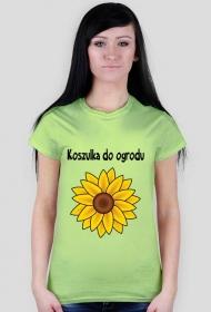 "Koszulka ""Do ogrodu"" - słonecznik"