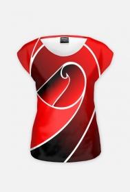 """Koszulka damska Full Print """"Floresy"""""""