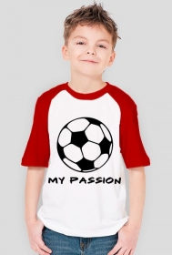 T- shirt Piłka - my passion
