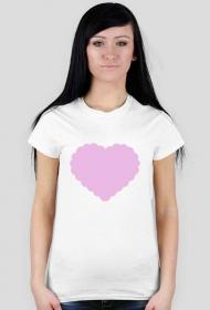 """Koszulka """"Serce Pink"""""""