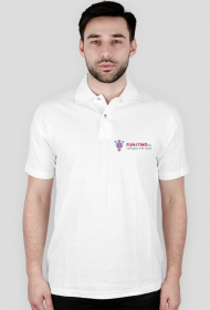 Polo FUN4TWO Logo WHITE