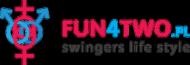 Kubek FUN4TWO Logo WHITE