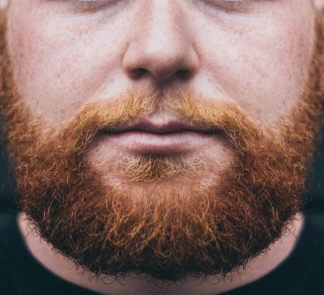 Maseczka ochronna z brodą