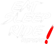 Motomass-Przypinka EAT SLEEP RIDE REPEAT!