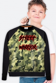 BLUZA KID STREET WARRIOR