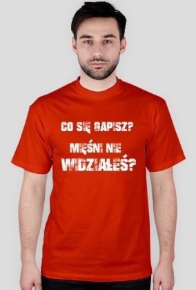 28301ce3a260bf Co sie gapisz - koszulki męskie w Koszulka na Siłownię