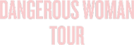 "Bluza czarna uniseks z kapturem ""Dangerous Woman Tour"""