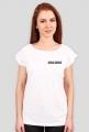 "Koszulka damska biała ""Dangerous Woman Tour: Europe"""