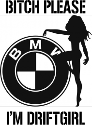BLUZA DAMSKA BMW DRIFTGIRL (2)