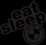 KOSZULKA EAT SLEEP BMW