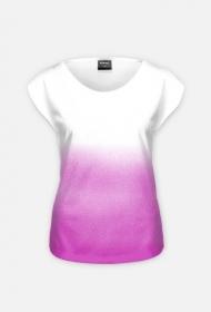 Ombre T-shirt damski [SIMPLE]