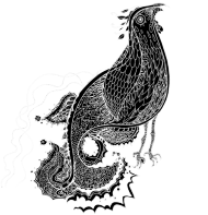 Bluza damska z kapturem Ptaki