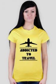 Addicted to travel - różne kolory