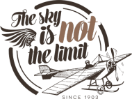 "AeroStyle - kubek lotniczy ""The sky is not the limit"""