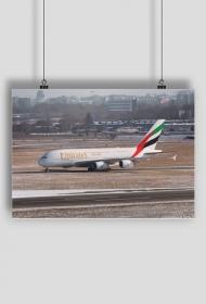 AeroStyle - plakat Airbus A380 w Warszawie