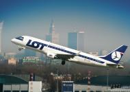 AeroStyle - plakat Embraer 175 Warszawa