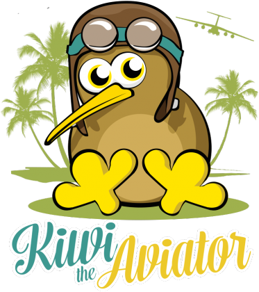 AeroStyle - Kiwi the Aviator zielona