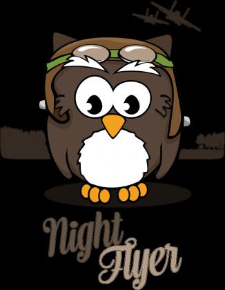AeroStyle - Night Flyer czarna dla chłopca