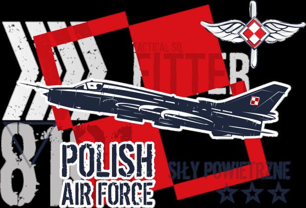 AeroStyle - koszulka Polish Air Force - Su 22