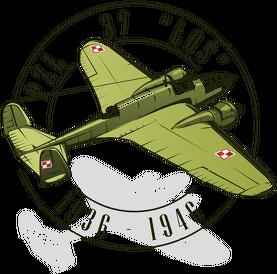 AeroStyle - kubek z samolotem PZL-37 Łoś