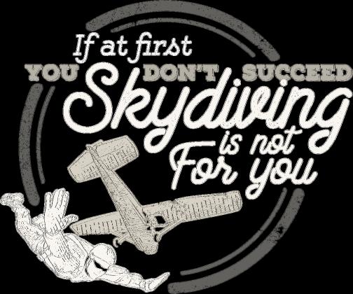 AeroStyle - męska Successful skydiver