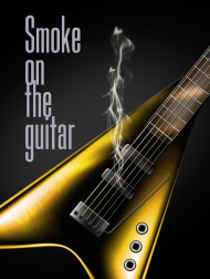 Smoke on the guitar