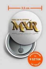 MXR Pin 3.5cm