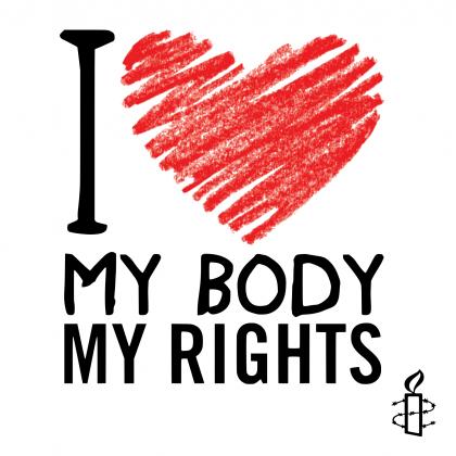 Wlepki - I love my body rights