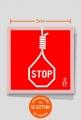 Wlepki - Stop dla kary śmierci