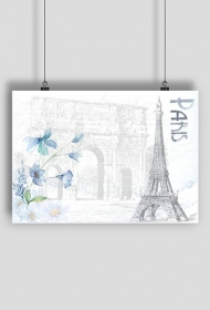 """Paris in blue"""