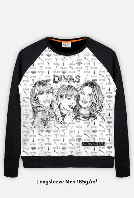 Divas / Maryla Rodowicz, Izabela Trojanowska, Beata Kozidrak / bluza regular
