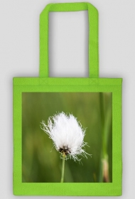 Cotton grass bag