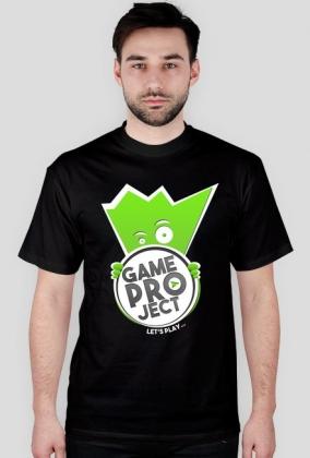 GameProject Koszulka Czarna