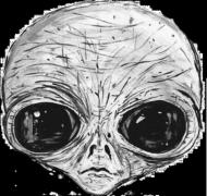 T-shirt damski Alien