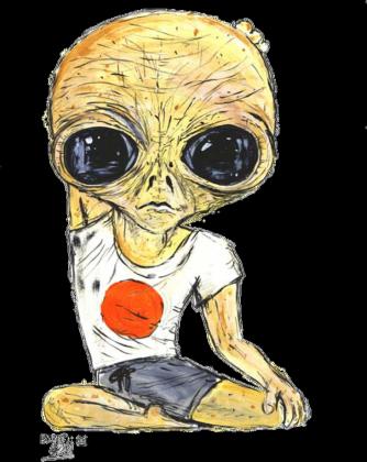 Jednostronny Alien Joga