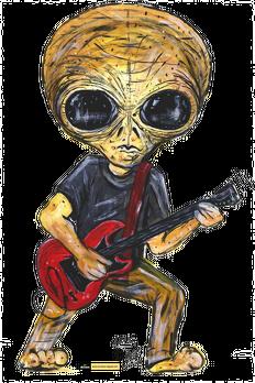 Plecak Alien - Gitara