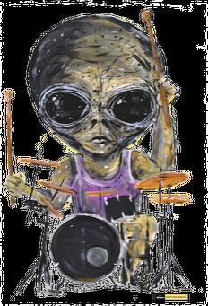 Plecak Alien - Perkusja