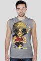 Koszulka męska bez rekawów Alien - Joga