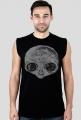T-shirt męski bez rękawów Alien
