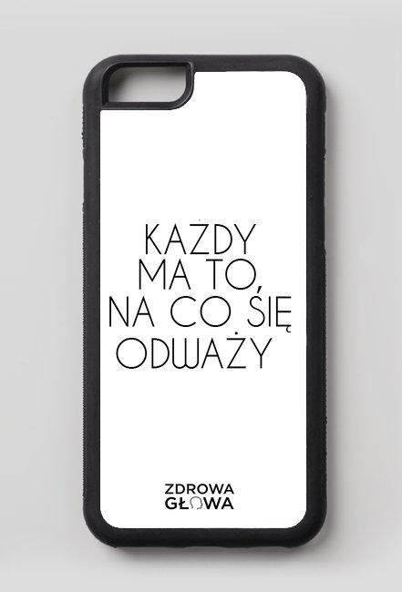 ODWAGA - case iPhone 6/6s
