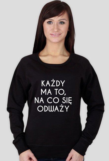ODWAGA - bluza damska