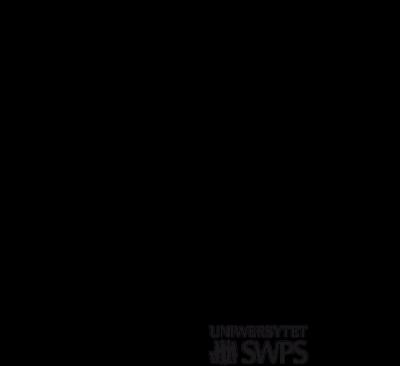 Biała torba z cytatem prof. Trzebińskiej - Zdrowa Głowa i Uniwersytet SWPS