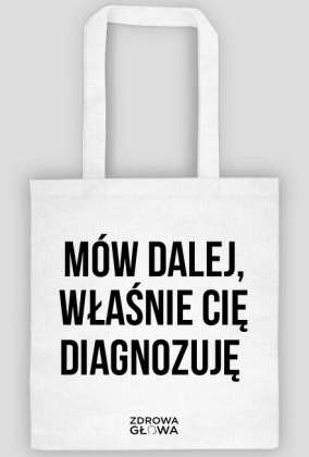 DIAGNOZA - torba biała