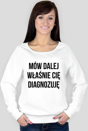 DIAGNOZA - bluza damska