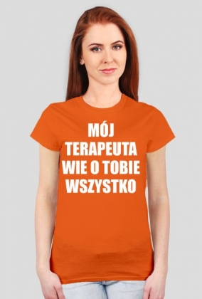 MÓJ TERAPEUTA - koszulka damska